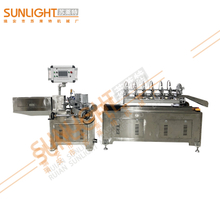 SL-SSDC 6 Balde Stainless Steel High Speed Online Cutting Paper Straw Machine