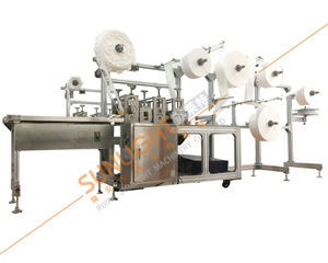 SLT-KZ07 Online Built-in Nose Bridge KN95 Folding Mask Making Machine