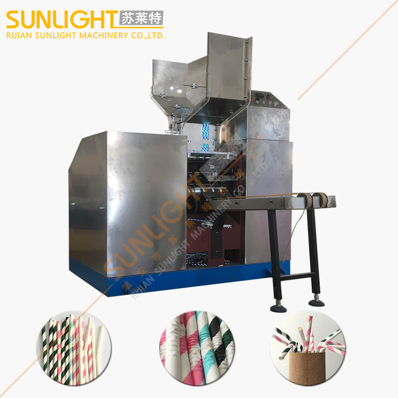 SULAITE-3100 Flexible U Shape Paper Straw Bending Machine