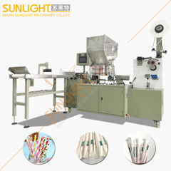 SULAITE-4100 PLC Control Length Single Straw Wrapping Paper Packing Machine